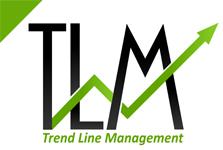 Trend Line Management (TLM) Logo